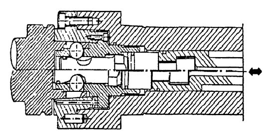 KM刀柄结构图